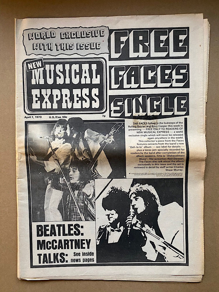FACES - NME
