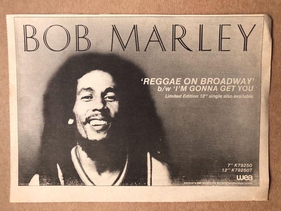 BOB MARLEY - REGGAE ON BROADWAY - Autres