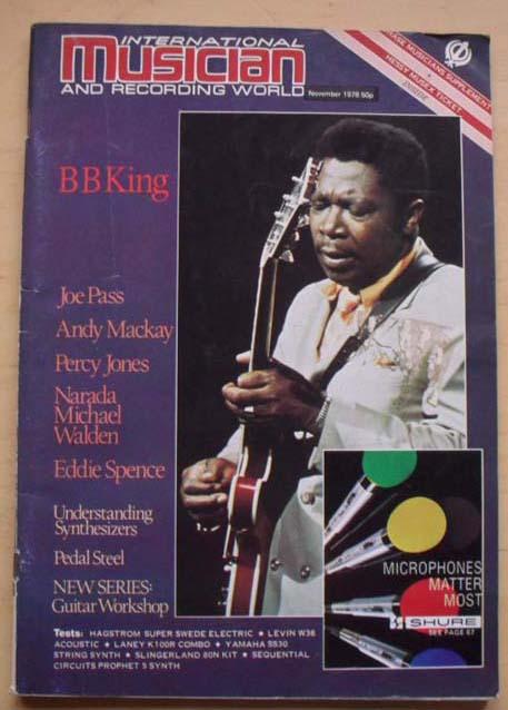 B B KING - INTERNATIONAL MUSICIAN