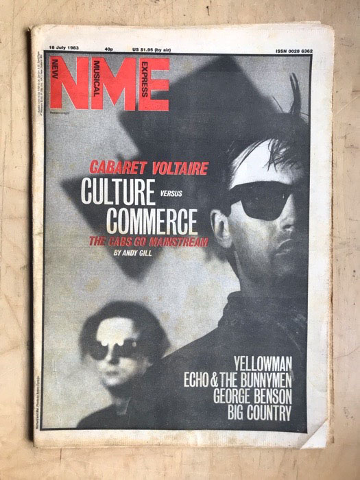CABARET VOLTAIRE - NME