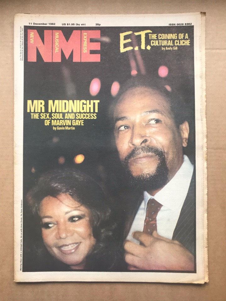 MARVIN GAYE - NME - Magazine
