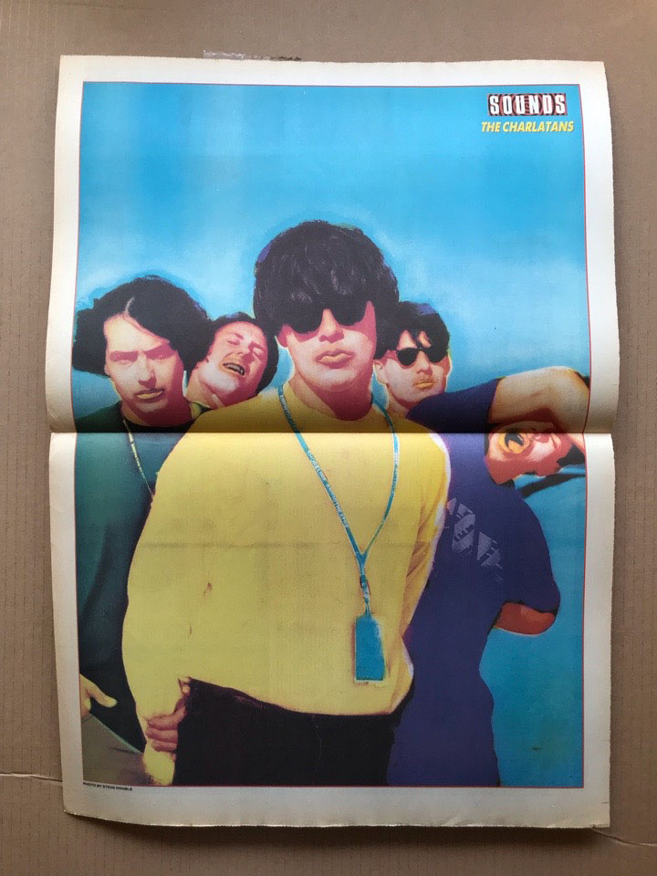 CHARLATANS - SOUNDS 1991 - Poster / Display