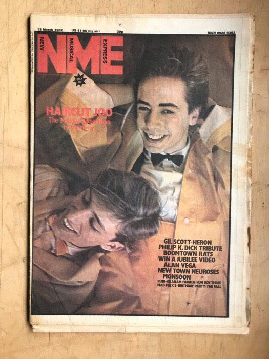 HAIRCUT 100 - NME