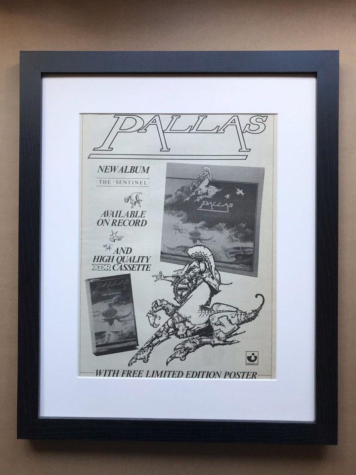 PALLAS - SENTINEL (FRAMED) - Poster / Display