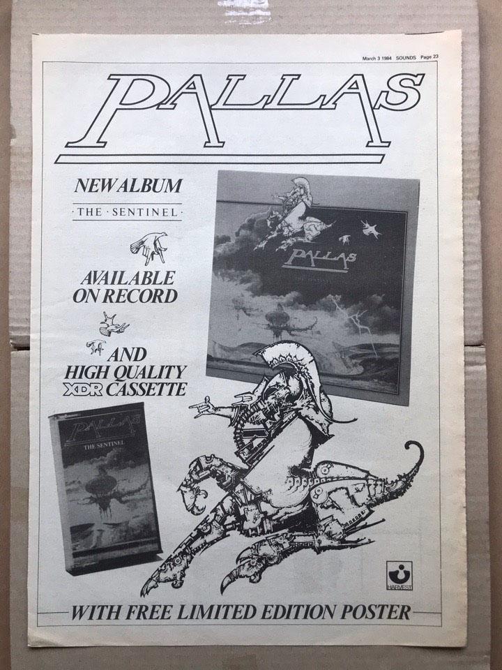 PALLAS - SENTINEL - Poster / Display