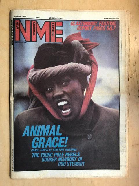 GRACE JONES - NME - Magazine