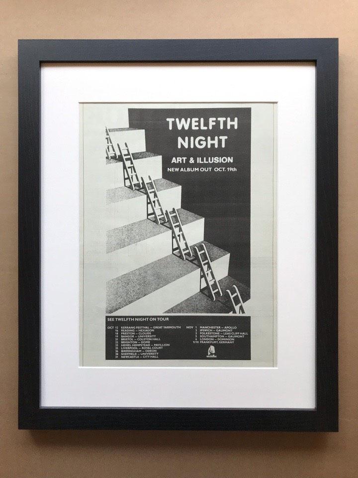 TWELFTH NIGHT - ART & ILLUSION (FRAMED) - Poster / Display