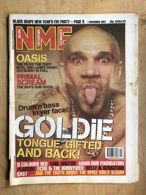 GOLDIE - NME - Magazine