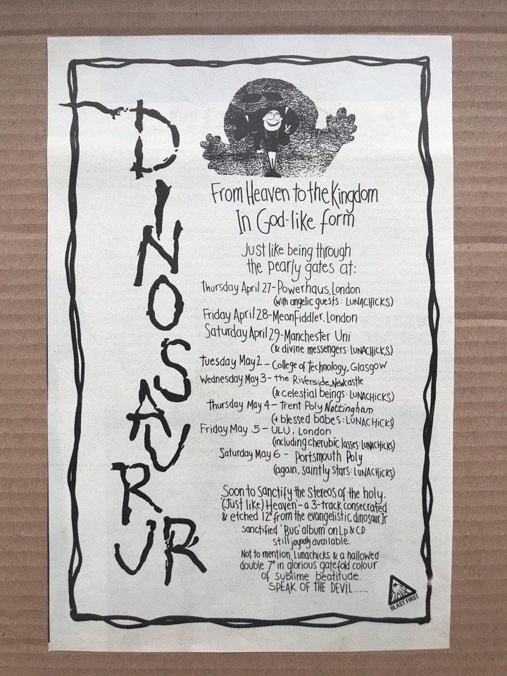 DINOSAUR JR - UK TOUR 1989 - Others