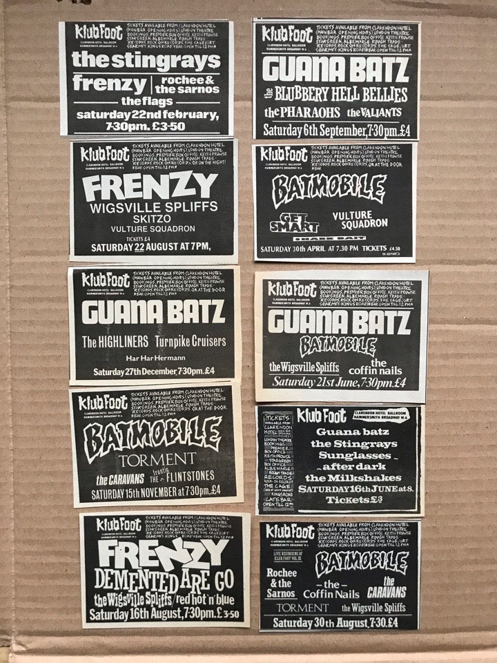 VARIOUS PSYCHOBILLY - SMALL GIG CUTTINGS(D) - Autres