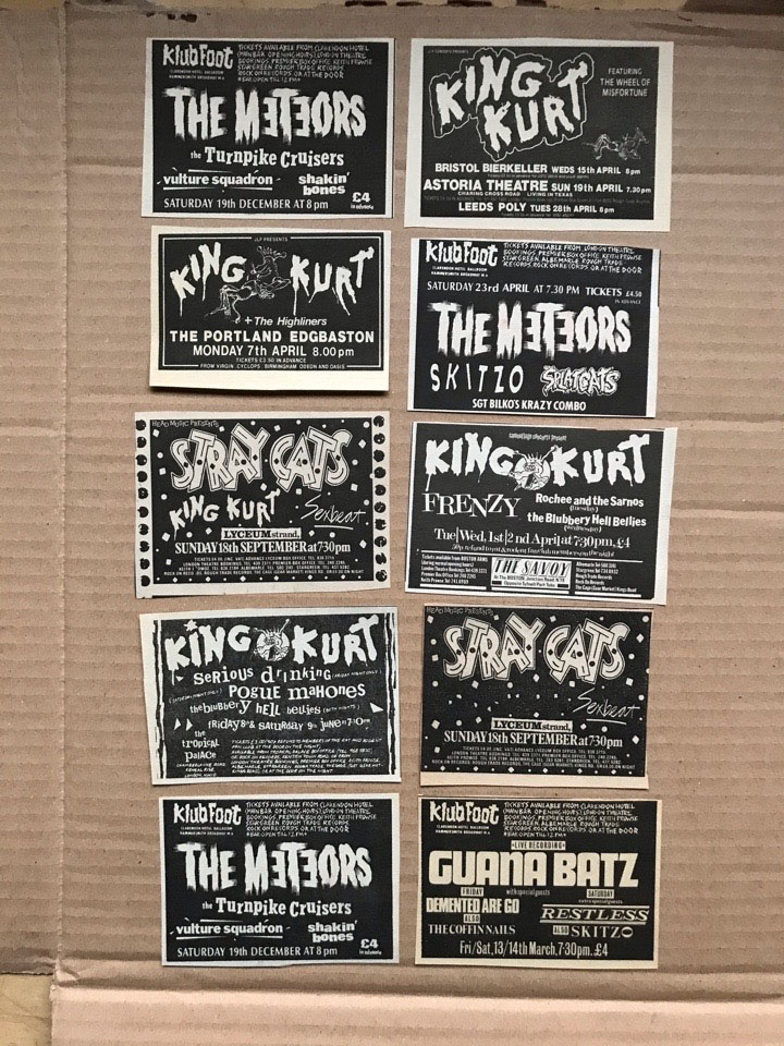 METEORS/PSYCHOBILLY - SMALL GIG CUTTINGS(C) - Autres