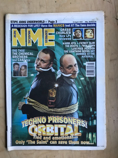 ORBITAL - NME - Magazine
