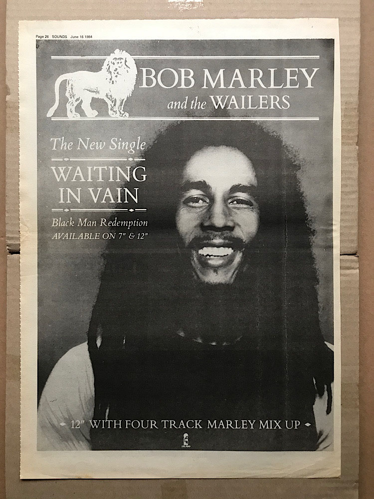 BOB MARLEY - WAITING IN VAIN - Poster / Affiche