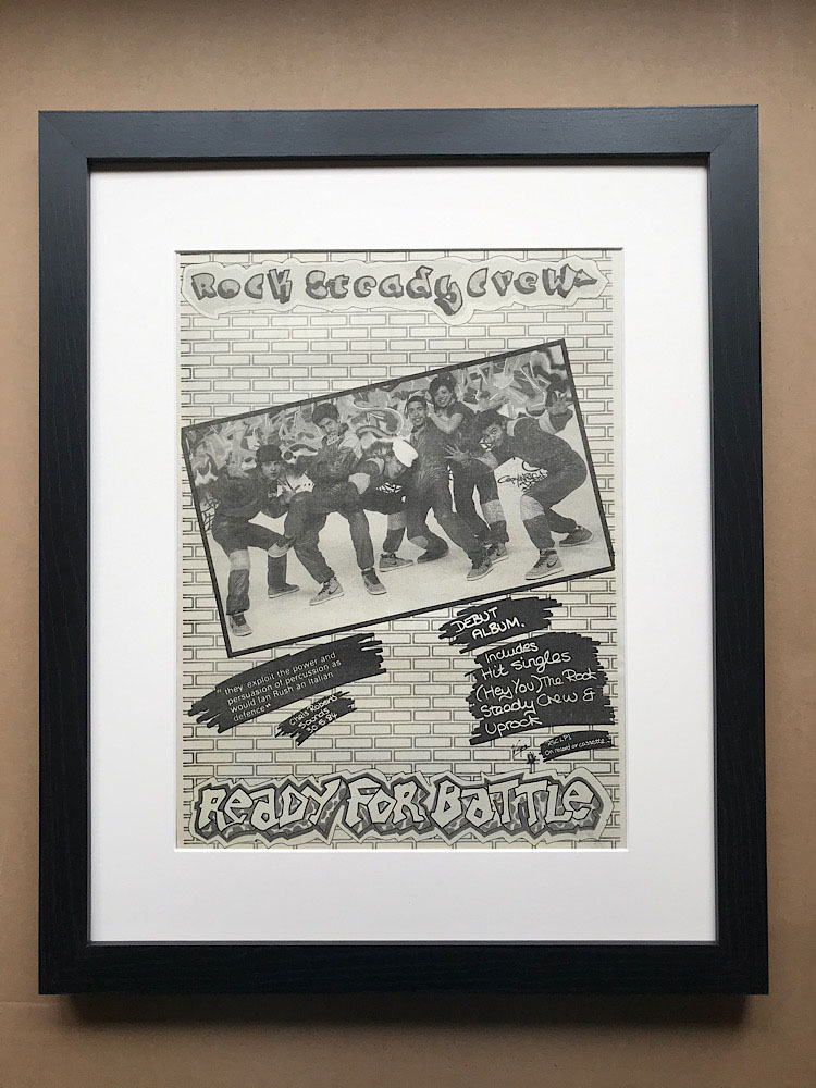 ROCK STEADY CREW - READY FOR BATTLE (FRAMED) - Poster / Affiche
