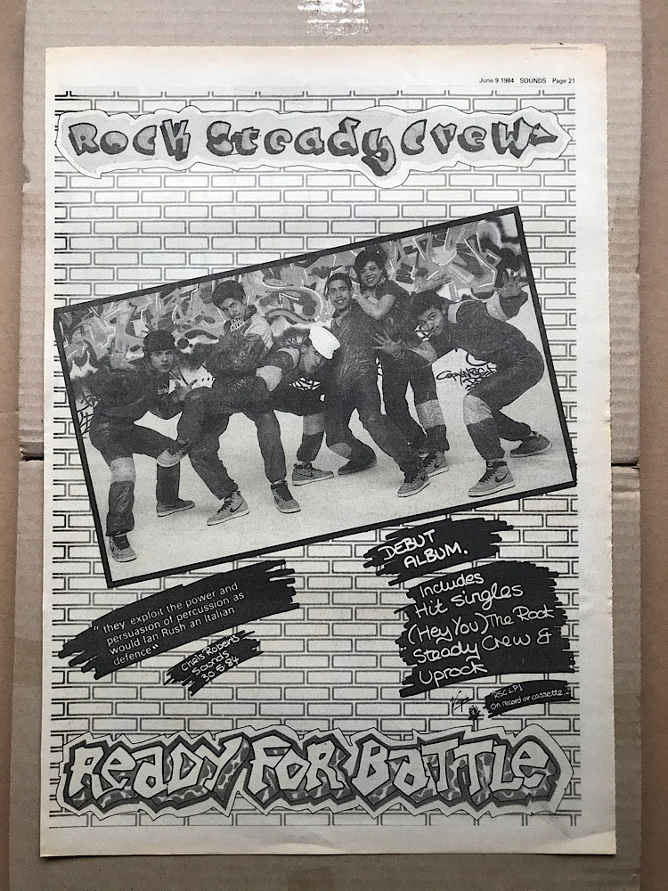 ROCK STEADY CREW - READY FOR BATTLE - Poster / Affiche