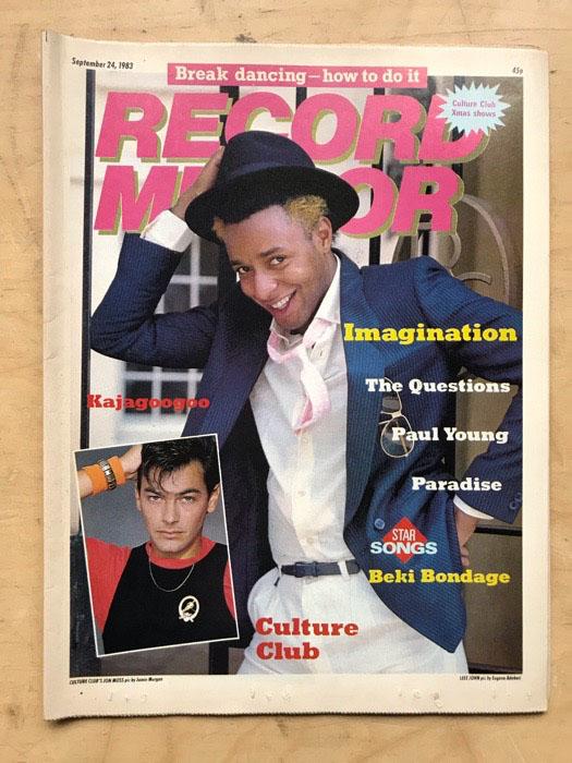 IMAGINATION - RECORD MIRROR - Magazine