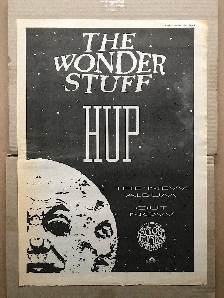 WONDER STUFF - HUP - Poster / Affiche