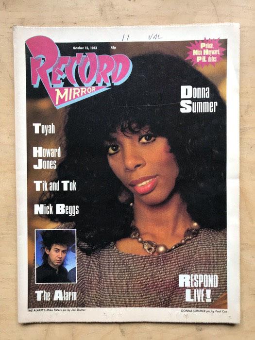 DONNA SUMMER - RECORD MIRROR - Magazine