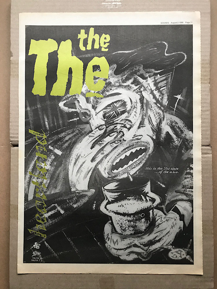 THE THE - HEARTLAND - Poster / Affiche
