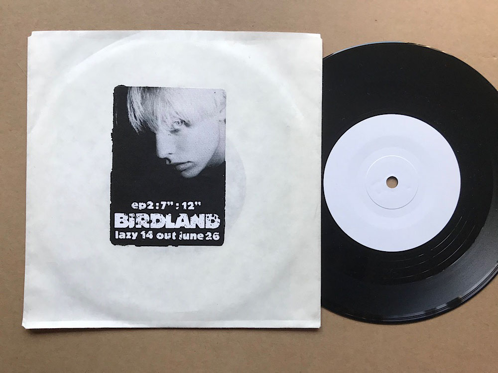 BIRDLAND - PARADISE (W/L) - 7'' 1枚