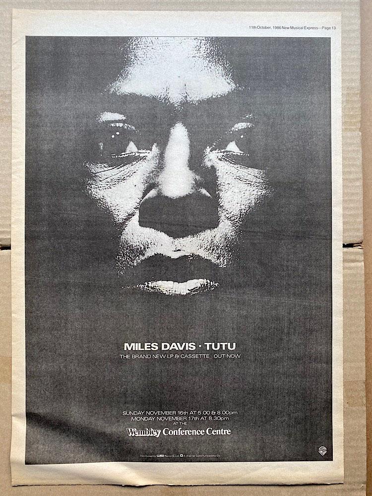 MILES DAVIS - TUTUT - Poster / Affiche