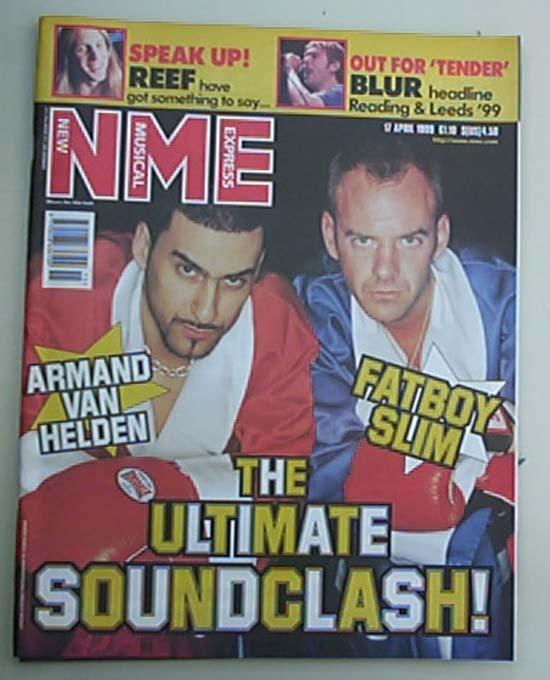 FATBOY SLIM + ARMAND VAN HELDEN - NME - Magazine