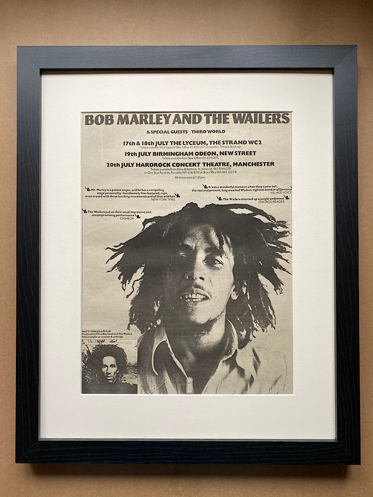 BOB MARLEY - NATTY DREAD(A) (FRAMED) - Poster / Affiche