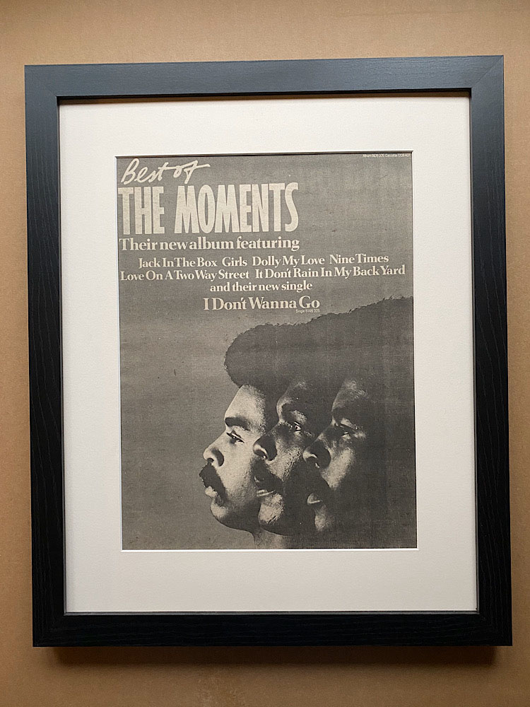 MOMENTS - BEST OF (FRAMED) - Poster / Display