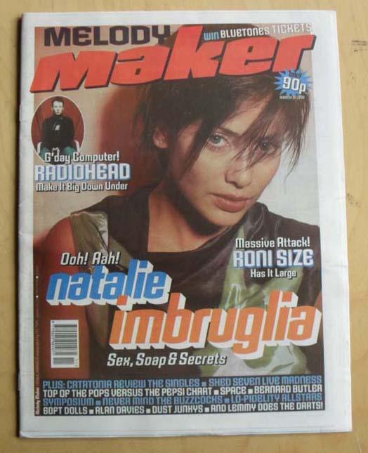 NATALIE IMBRUGLIA - MELODY MAKER