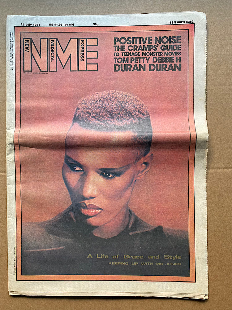 GRACE JONES - NME - Magazine