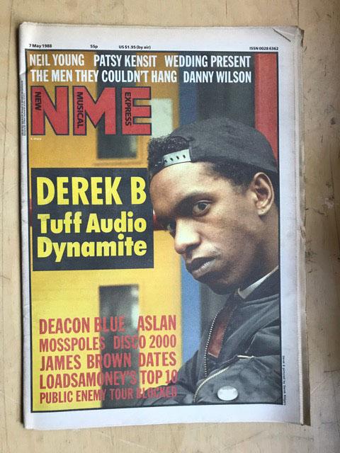 DEREK B NME