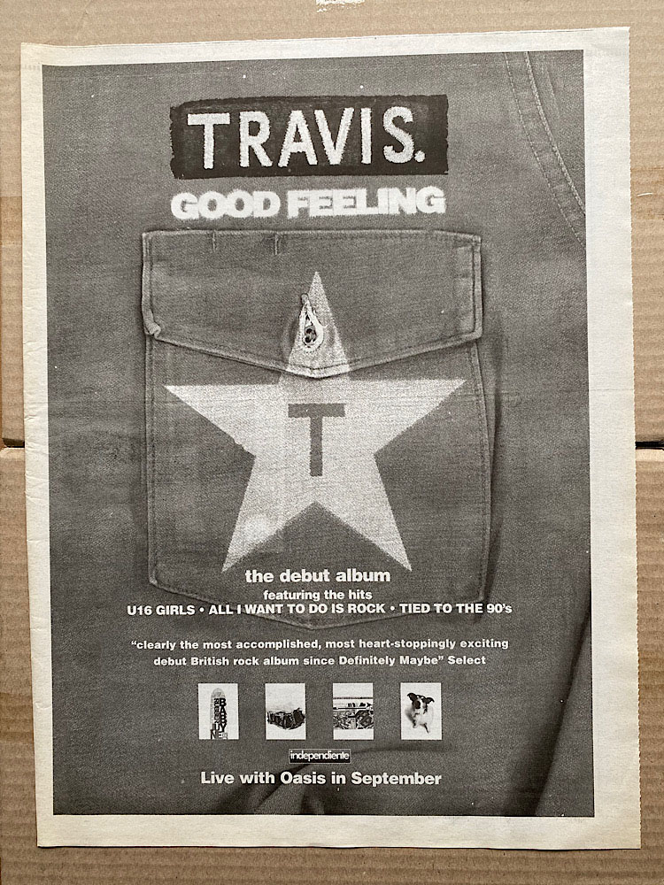 TRAVIS - GOOD FEELING - Poster / Affiche