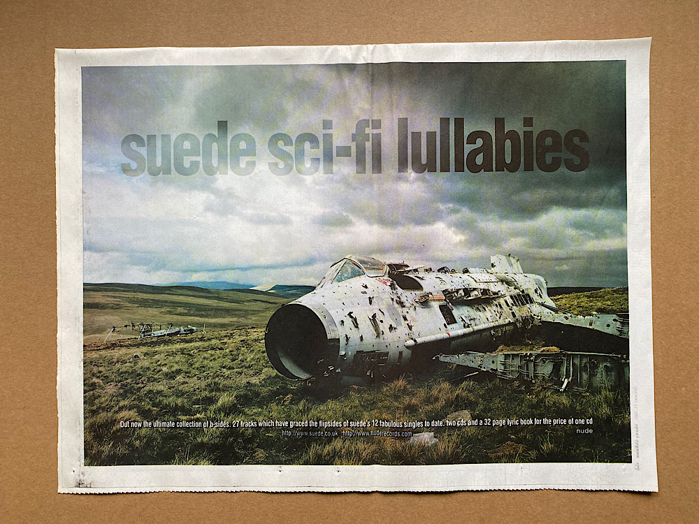 SUEDE - SCI-FI LULLABIES - Poster / Affiche