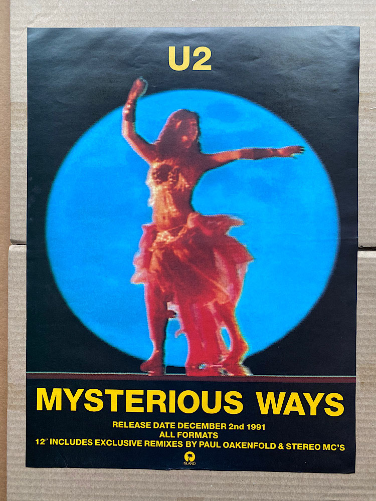 U2 - MYSTERIOUS WAYS - Poster / Affiche