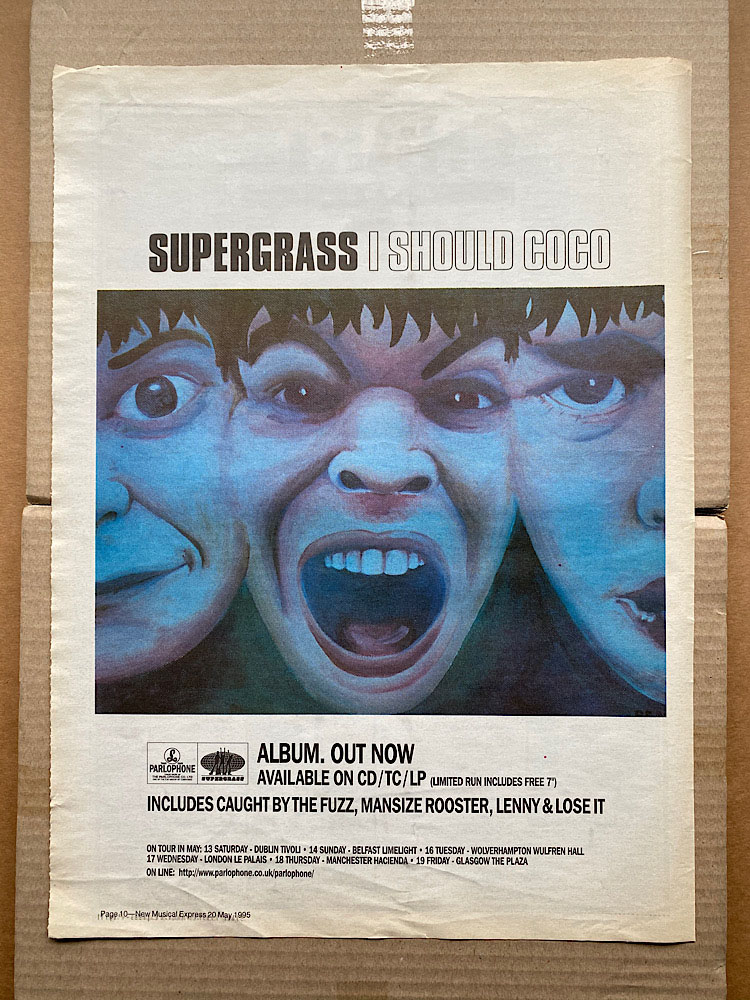 SUPERGRASS - I SHOULD COCO (B) - Poster / Affiche