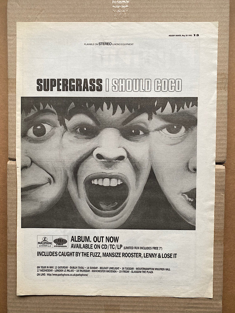 SUPERGRASS - I SHOULD COCO (A) - Poster / Affiche