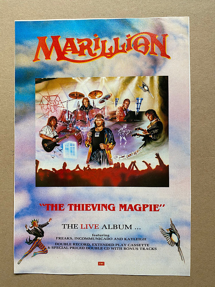 MARILLION - THIEVING MAGPIE - Others