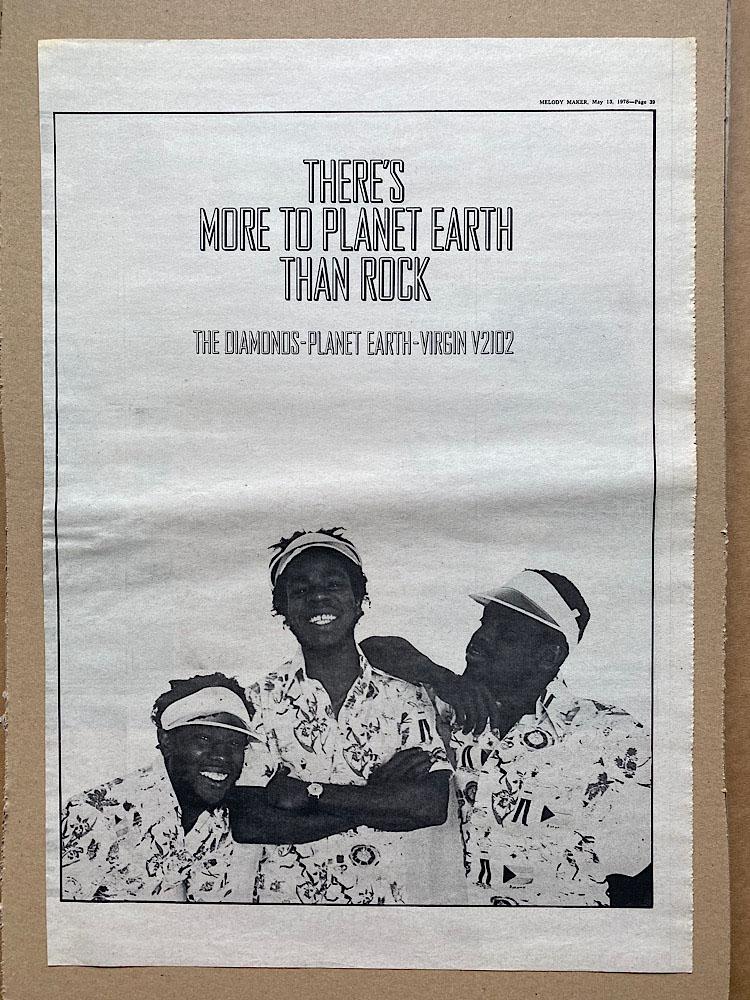 DIAMONDS - PLANET EARTH - Poster / Affiche
