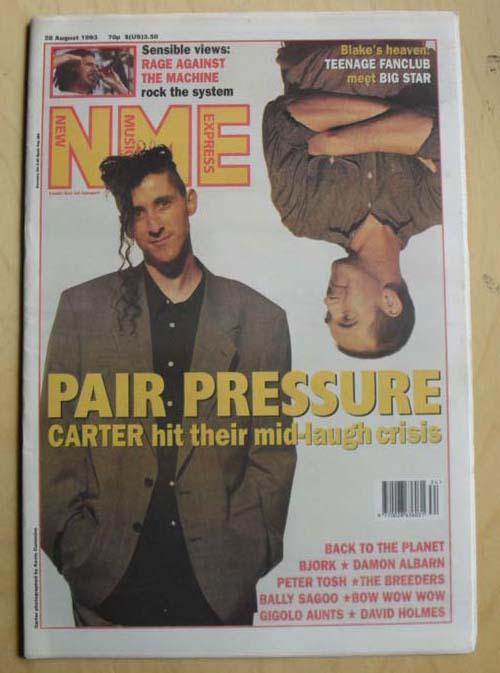 CARTER USM - NME - Magazine