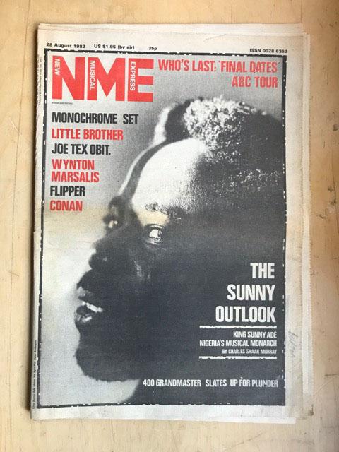 KING SUNNY ADE - NME - Magazine