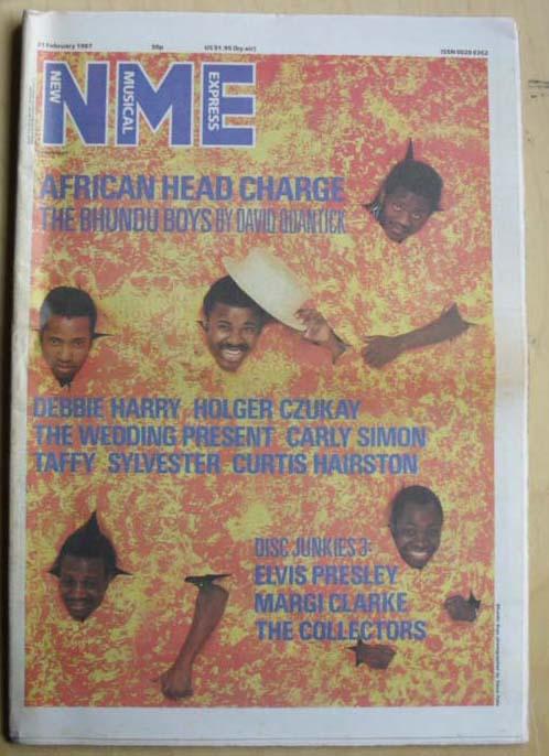 BHUNDU BOYS - NME - Magazine