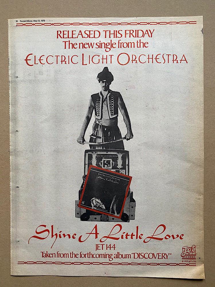ELO - SHINE A LITTLE LOVE - Poster / Affiche