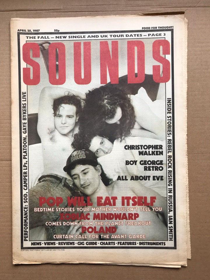 POP WILL EAT ITSELF - SOUNDS - Magazine