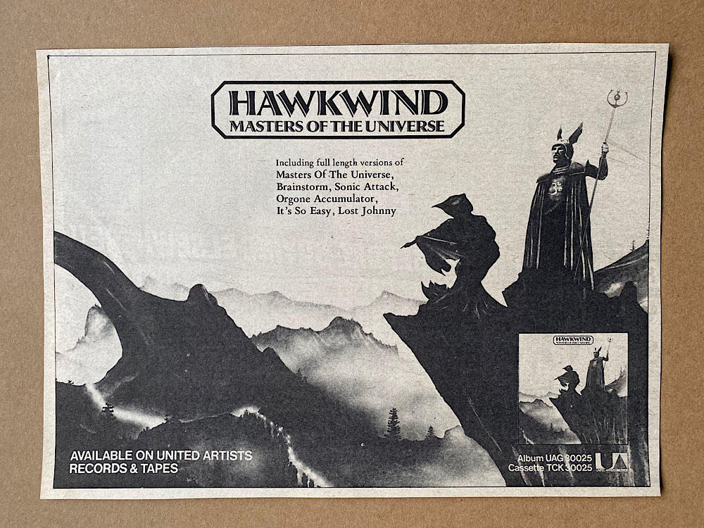 HAWKWIND - MASTERS OF THE UNIVERSE - Autres