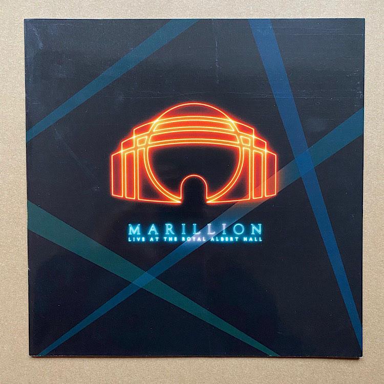 MARILLION - LIVE AT THE ROYAL ALBERT HALL - Programme Concert