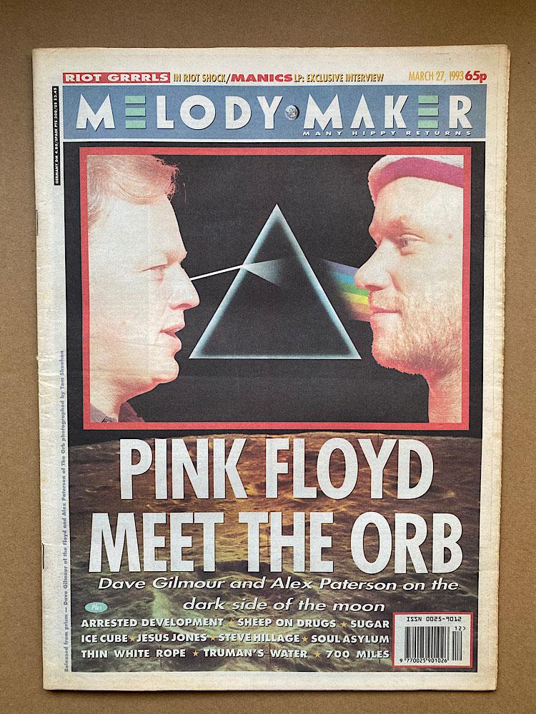 PINK FLOYD/ORB - MELODY MAKER - Magazine