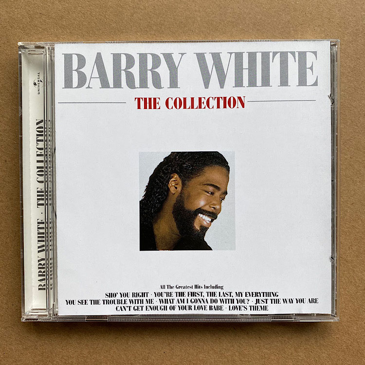 BARRY WHITE - THE COLLECTION - CD