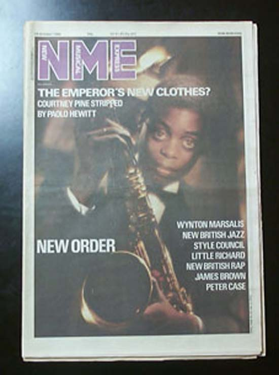 COURTNEY PINE - NME - Magazine