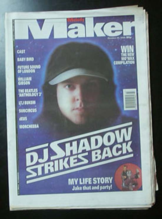 DJ SHADOW - MELODY MAKER - Magazine