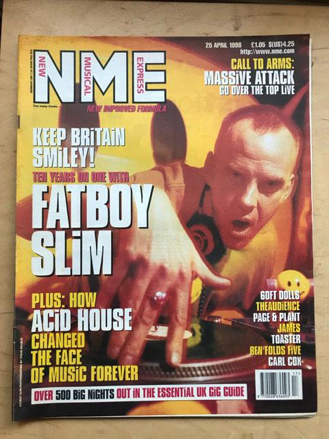 FATBOY SLIM - NME - Magazine